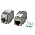 DCI RJ45 Keystone Slimline, Cat.6A For keystone panel