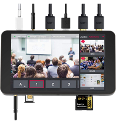 YoloBox Portable Live Stream Studio alt-i-ett streaming løsning